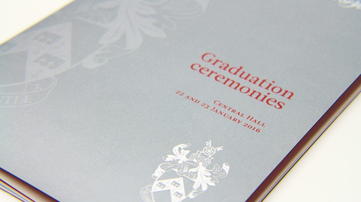 Graduation Brochure